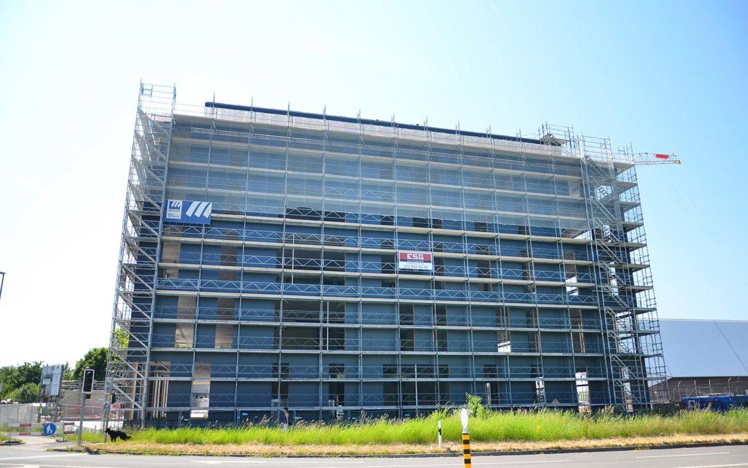 Finalisation de la façade